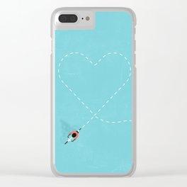 If I Had a Bike Clear iPhone Case
