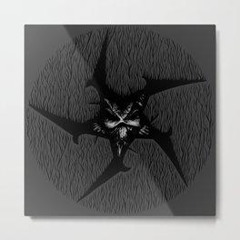 Evil (circle) Metal Print