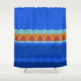 Geometric modern pattern 1 Shower Curtain