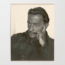 Salvador Dali old photo Poster