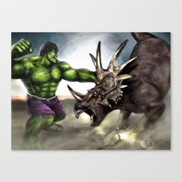 TriceraSMASH Canvas Print
