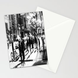 Street Scene New York Stationery Cards