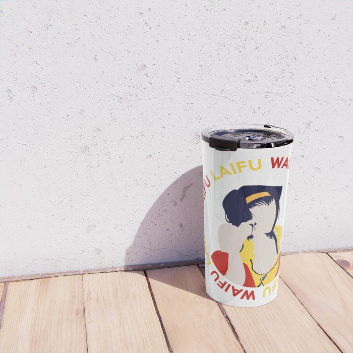 Waifu Laifu Anime Inspired Shirt Travel Mug