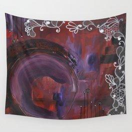 Black Velvet Wall Tapestry