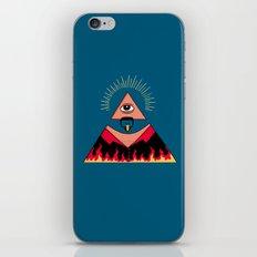 The All Seeing Eye Fieri  iPhone Skin