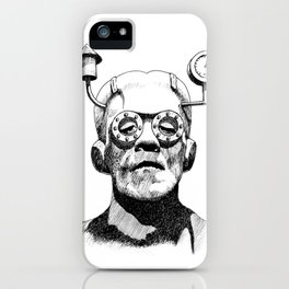 Frank N Berry iPhone Case