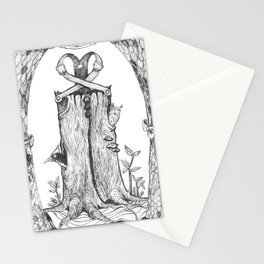 Haunted Clothing- The Eternal Wooden Pants Stationery Cards