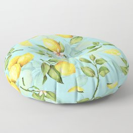 Vintage & Shabby Chic - Lemonade Floor Pillow