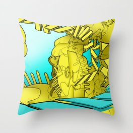 AUTOMATIC WORM 1 Throw Pillow