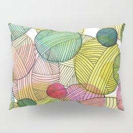 Yarn Stash Pillow Sham