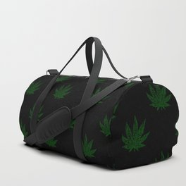 Sweet Leaf Blacklight Green Duffle Bag