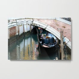 Gondola Metal Print
