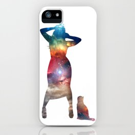 Rainbow Cat Girl iPhone Case