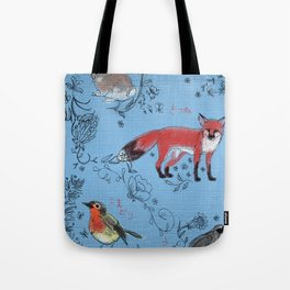 Hide and Seek Forest Tote Bag