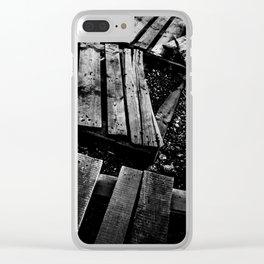 Crumbled Clear iPhone Case