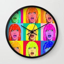 DEBBIE HARRY MULTI Wall Clock
