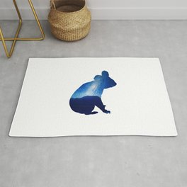 Blue Koala Rug