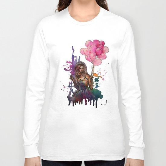 les ballons roses Long Sleeve T-shirt