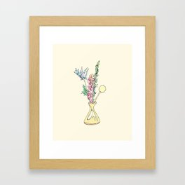 Flower Vase Framed Art Print