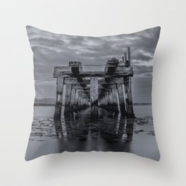 Old Wooden Bridge 2 Throw Pillow