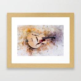 Electric Guitar Art Framed Art Print