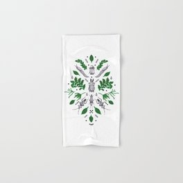 Orienteering insects Hand & Bath Towel