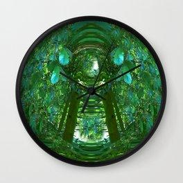 Abstract Gazebo Wall Clock