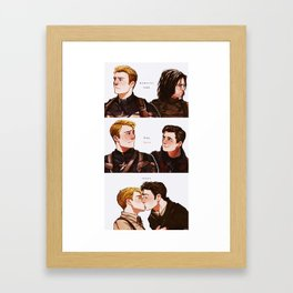 memories fade Framed Art Print
