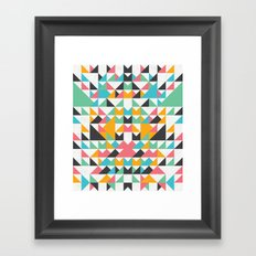 Meddling Framed Art Print