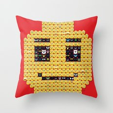 In my head Throw Pillow