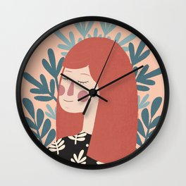 Forever Daydreaming Wall Clock