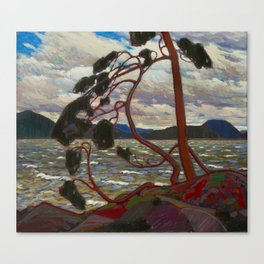 Tom Thomson - The West Wind Canvas Print