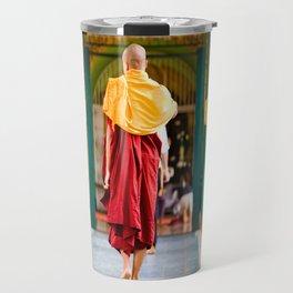 Monaci, Myanmar Travel Mug
