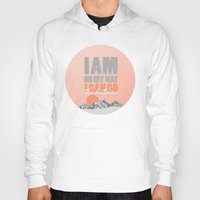 hercules Hoodies featuring i can go the distance.. hercules by studiomarshallarts