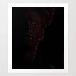 Demon Dean Art Print