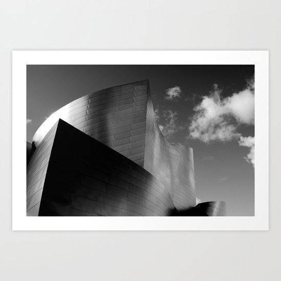 Disney Concert Hall 3 Art Print