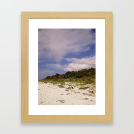 Sanibel Whispering Cloud Framed Art Print