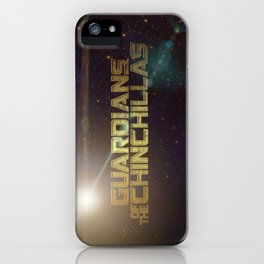 Guardians of the Chinchillas iPhone Case