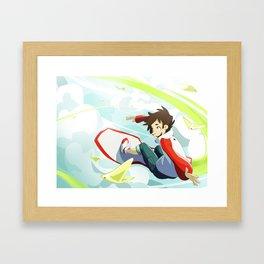 Eureka Seven Framed Art Print