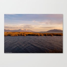Utah Lake Canvas Print