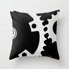 Spacial Movement Throw Pillow