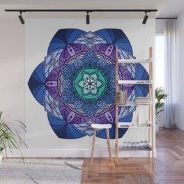[Mandala] Cool Hues Wall Mural