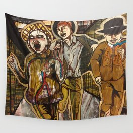 Dream Runners Wall Tapestry