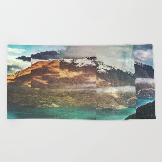 Fractions A32 Beach Towel