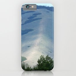 Hog's Back Mountain iPhone Case