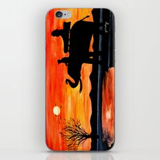 Carrie's Ride iPhone & iPod Skin