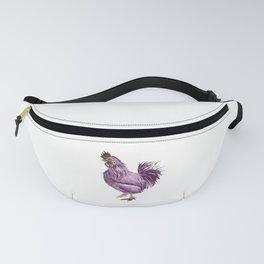 Rooster Strut Fanny Pack