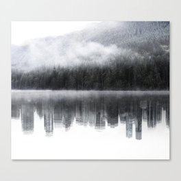 Nature and City Canvas Print
