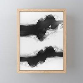 Hello from the The White World Framed Mini Art Print