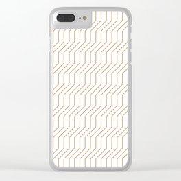 Escalator Clear iPhone Case